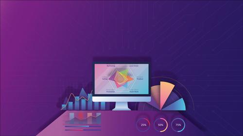 Marketing and SEO illustration